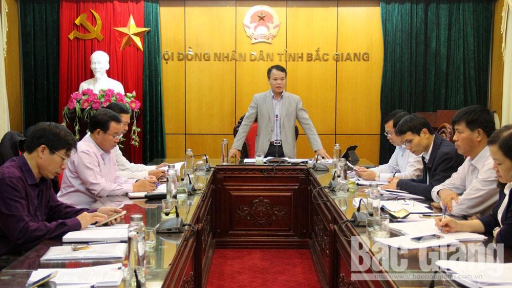 Ban Pháp chế HĐND tỉnh Bắc Giang thẩm tra các báo cáo trình kỳ họp thứ 9 HĐND tỉnh